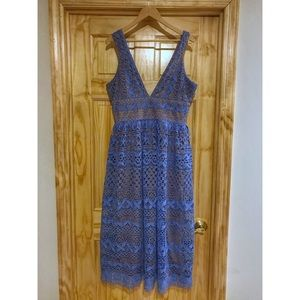 Blue Dress Perfect For Spring